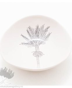 Porcelain bowl new zealand ceramics Nikau NZ