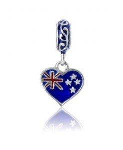 Evolve charm Heart NZ Love Sterling Silver