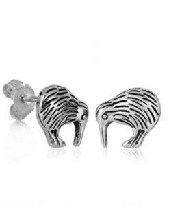 Evolve Earrings Kiwi Studs NZ Sterling Silver