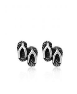 Evolve Earrings Jandals Studs NZ Sterling Silver