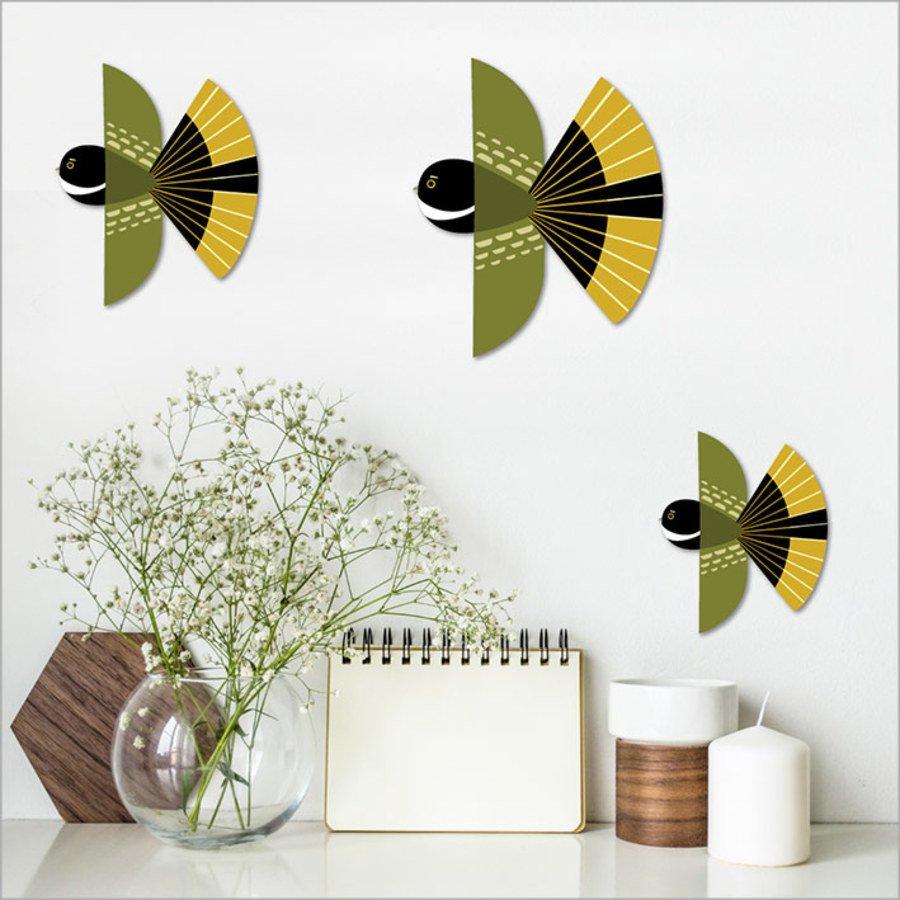 Printed ACM Birds Set: Folk Fantail