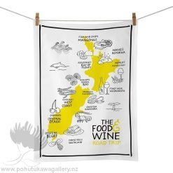 Moana Road Tea Towel - NZ Food and Wine Festivals