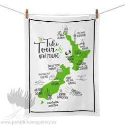 Moana Road Tea Towel - NZ Tiki Tour