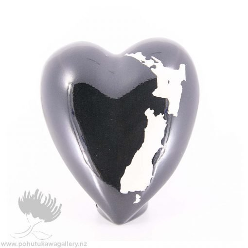 new zealand handmade ceramic heart nz love design