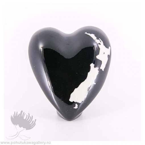 new zealand handmade ceramic heart nz love design