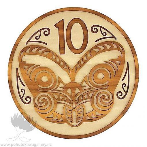 10 Cent Coin NZ wall art gift