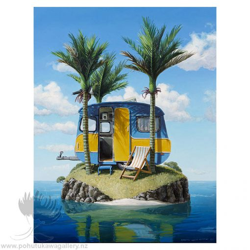 Barry Ross Smith New Zealand Artist Caravan