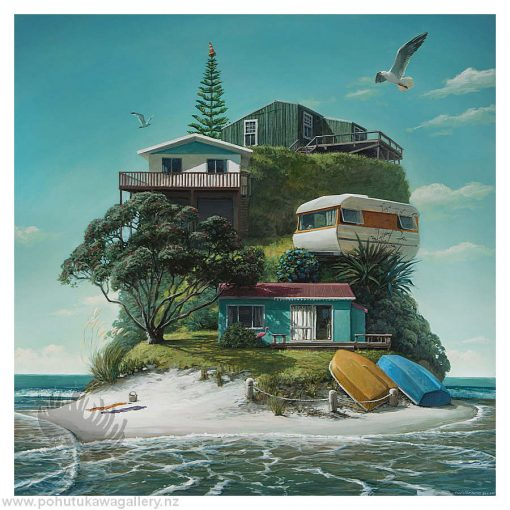 Barry Ross Smith New Zealand Artist Baches