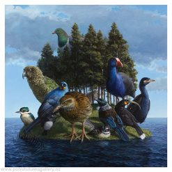Barry Ross Smith New Zealand Artist Buller