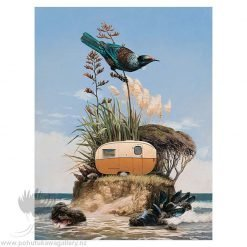 Barry Ross Smith New Zealand Artist Freedom Camper
