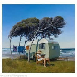 Barry Ross Smith New Zealand Artist Sitting Pretty