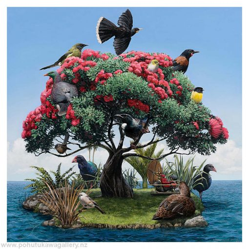 Barry Ross Smith New Zealand Artist The Garden
