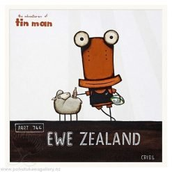 Ewe Zealand 2 By Tony Cribb