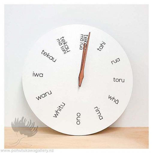 New Zealand clock Te Reo clock