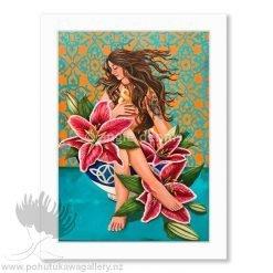 Angie Dennis Nurture You Matted Art Print NZ