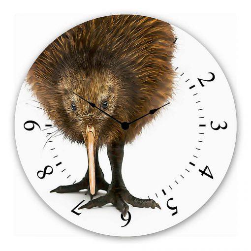 kiwi Wall clock new zealand art gift