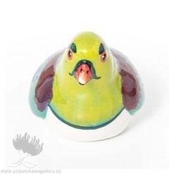 new zealand ceramic wood pigeon splashy