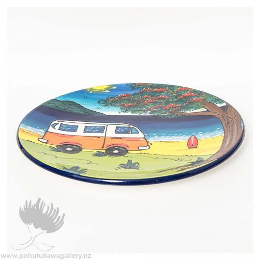 new zealand ceramic kiwiana bowl