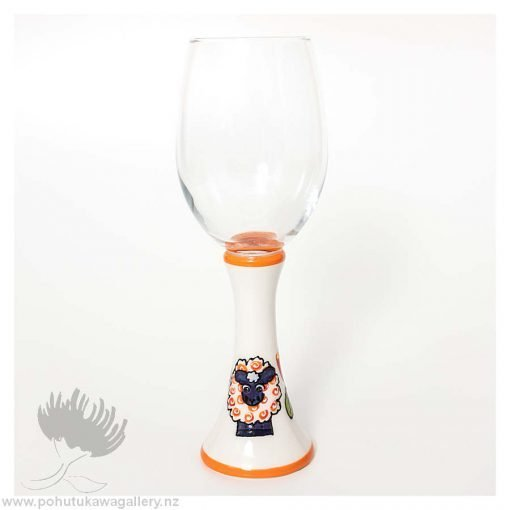 Great New Zealand Gifts wine glass