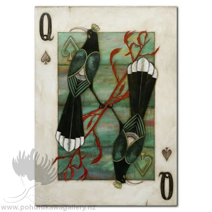 Huia Queen by Kathryn Furniss Gift cards New Zealand