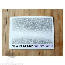 new zealand place mat