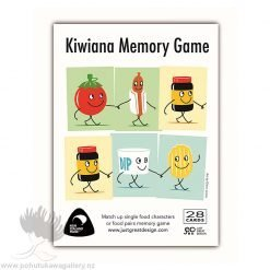 Kiwiana Memory Game – Designed by NZ Artist Glenn Jones