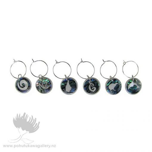 WINE CHARMS PAUA