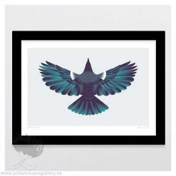 glenn-jones-art-art-print-a4-print-black-frame-forest-flight