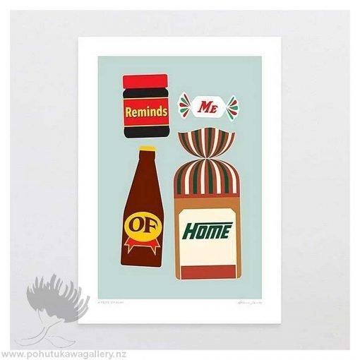 glenn-jones-art-art-print-a4-print-unframed-a-taste-of-kiwi