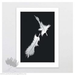glenn-jones-art-art-print-a4-print-unframed-feathers