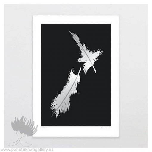 glenn-jones-art-art-print-a4-print-unframed-feathers