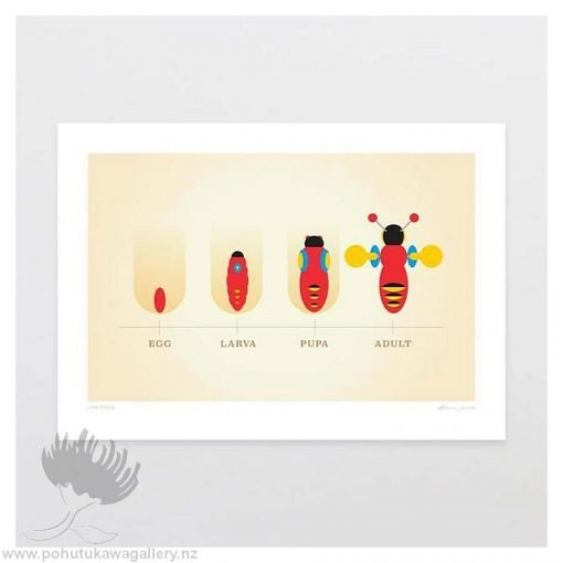 glenn-jones-art-art-print frame-life-cycle