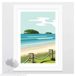 Beach Art Print NZ