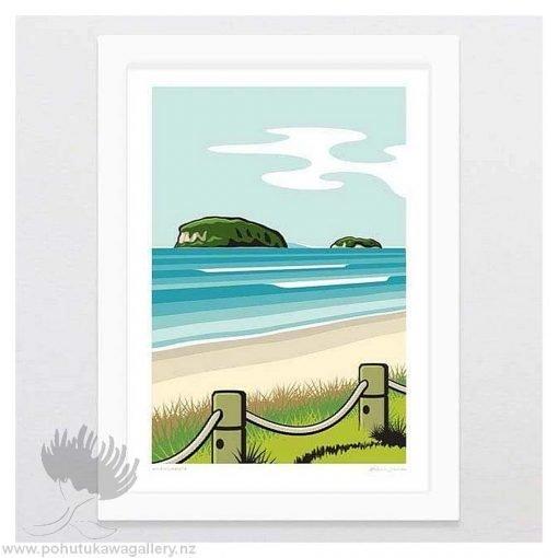 Beach Art Print NZ