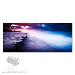 Kirk O'Donoghue Canvas Print - Beach At Night