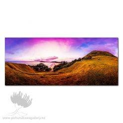 Kirk O'Donoghue Canvas Print – Cloudy Mount