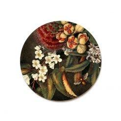 Kohekohe Pods & Flowers Coaster LW