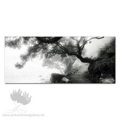 Kirk O'Donoghue Canvas Print - Misty Morning Mount