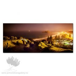 Kirk O'Donoghue Canvas Print - Misty Mount Night