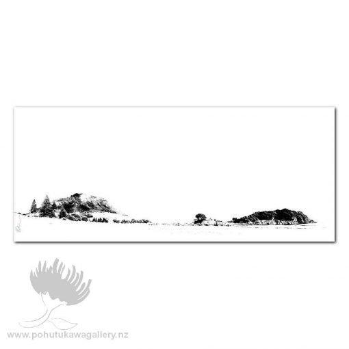 Kirk O'Donoghue Canvas Print - Mount BW Pano