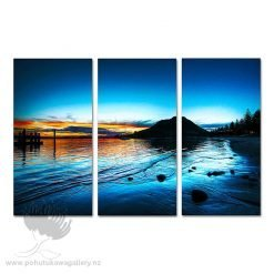 Kirk O'Donoghue Canvas Print - Pilot Bay Triple Set