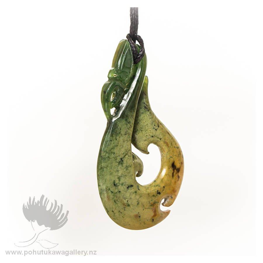 NZ Greenstone Pendant – Manaia