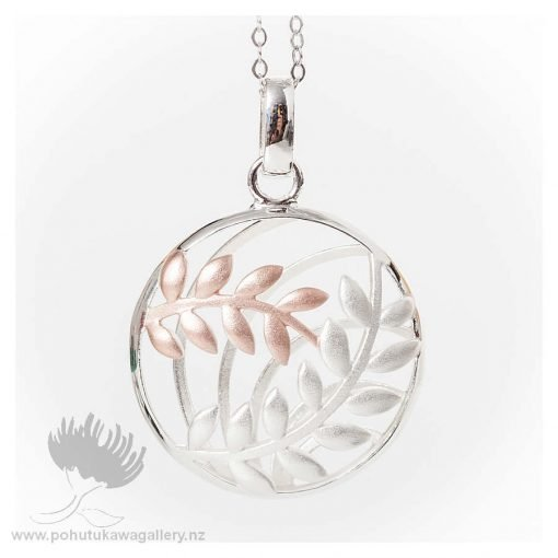 Pendant Fern Basket With Chain