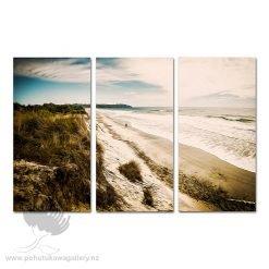 Man Beach Pic - Kode Triptych