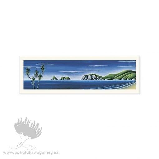 Coromandel Calm by Diana Adams - Art Prints New Zealand