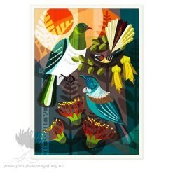 Forest Friends by Ellen Giggenbach - Art Prints New Zealand