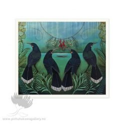 Gatherings Of Past by Kathryn Furniss - Art Prints New Zealand