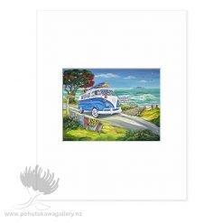 Gone Surfing by Caren Glazer - Art Prints New Zealand