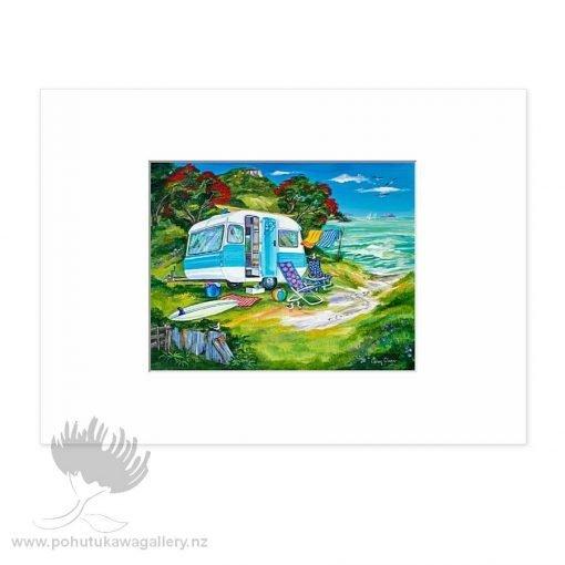 Happy Campers by Caren Glazer - Art Prints New Zealand