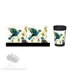 Lovelis Two Tui Cuppa Coffee cup